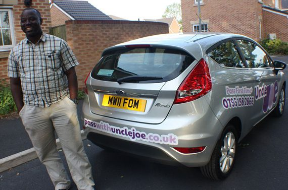 Joe Bangudu driving school m25 manchester