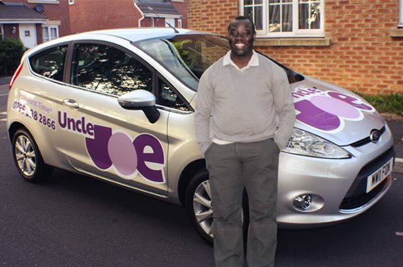 Joe Bangudu driving school old trafford manchester